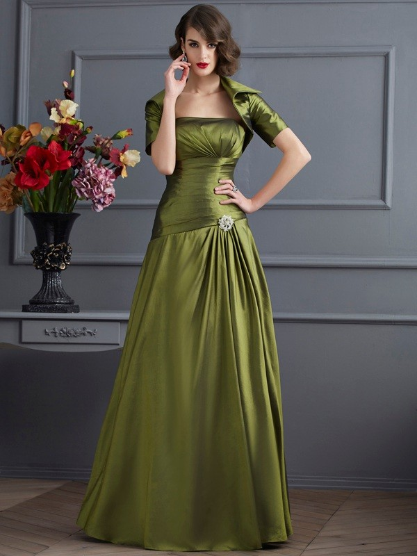 Chic Taffeta Short Sleeves Special Occasion Wrap