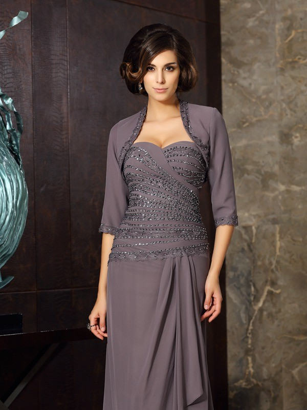 Chic 1/2 Sleeves Chiffon Special Occasion Wrap