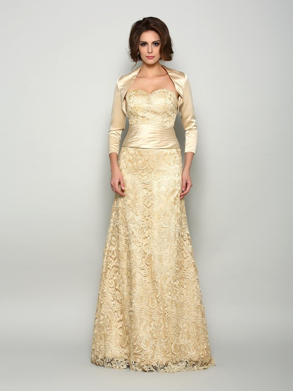 Chic 3/4 Sleeves Satin Special Occasion Wrap