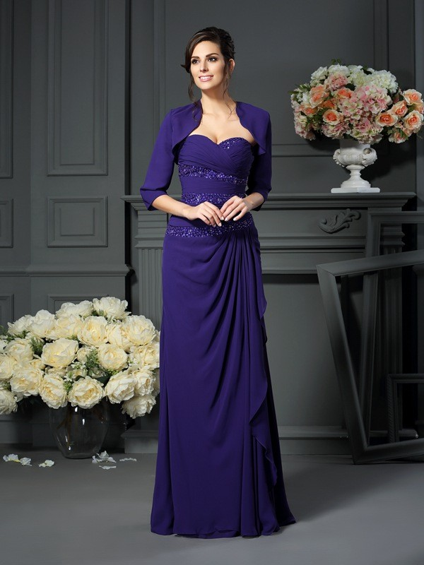 Chic Chiffon 1/2 Sleeves Special Occasion Wrap
