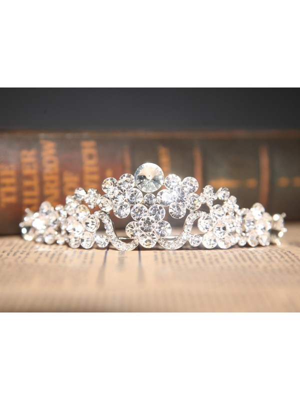 Beautiful Clear Wedding Headpiece