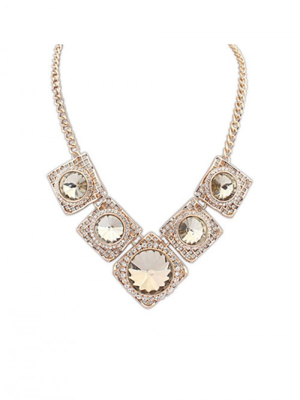 Stylish Occident Street shooting Major suit Luxurious Retro Necklace