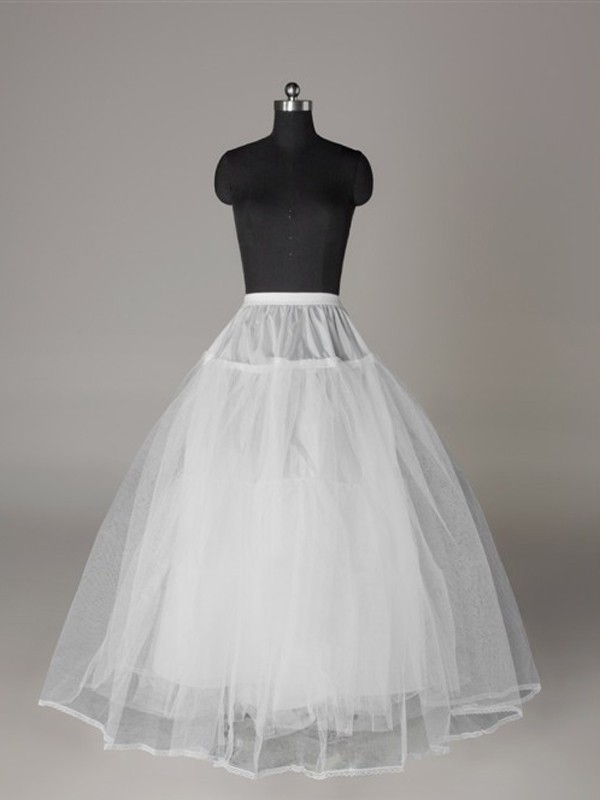 New Tulle Netting Ball-Gown 3 Tier Floor Length Slip Wedding Petticoat