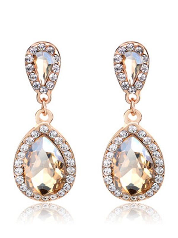 New Hot Sale Vintage Alloy With Rhinestone Earrings
