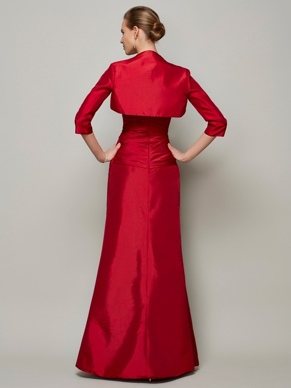 Chic 3/4 Sleeves Taffeta Special Occasion Wrap
