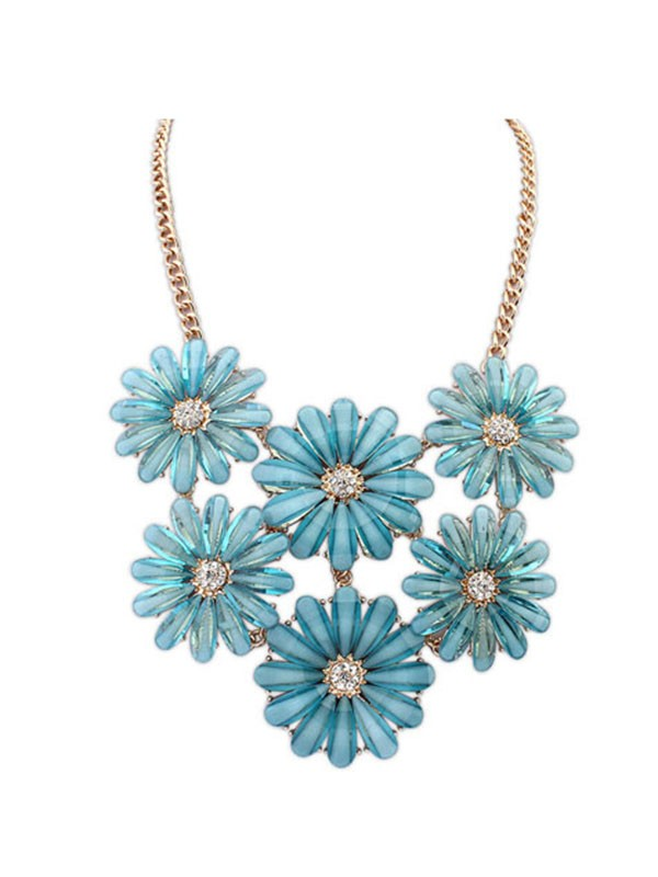 Gorgeous Occident Summer Style Fresh Necklace